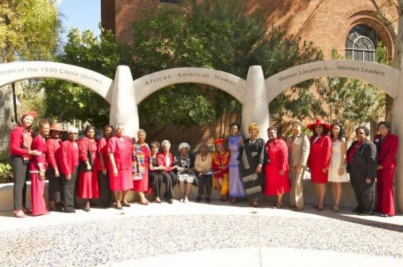 Women's Plaza of Honor Dedication