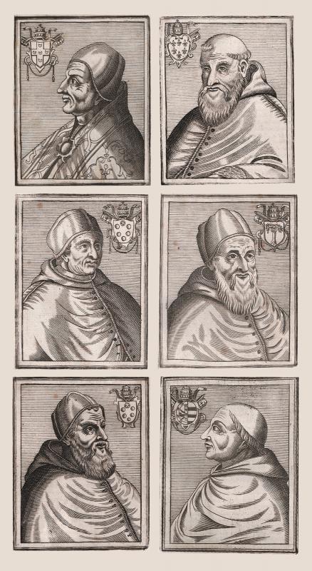 Popes, Magnvm bvllarivm Romanvm