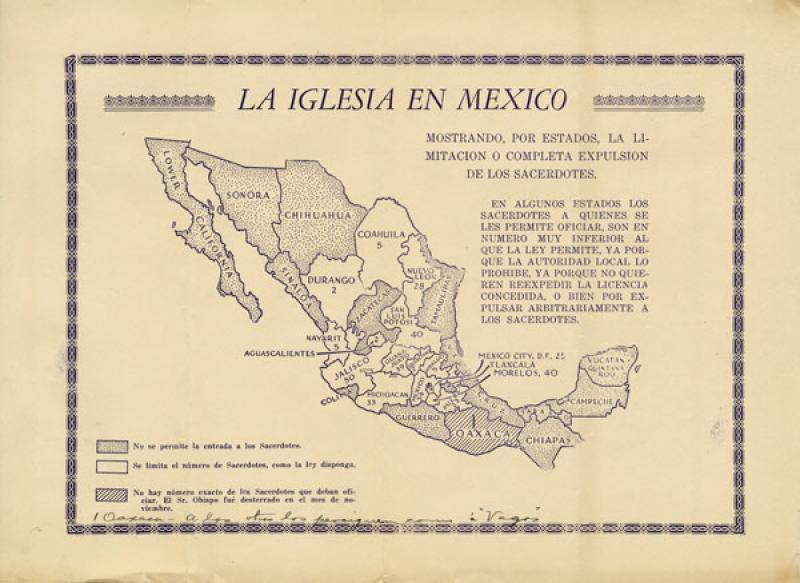 La iglesia en México<br />