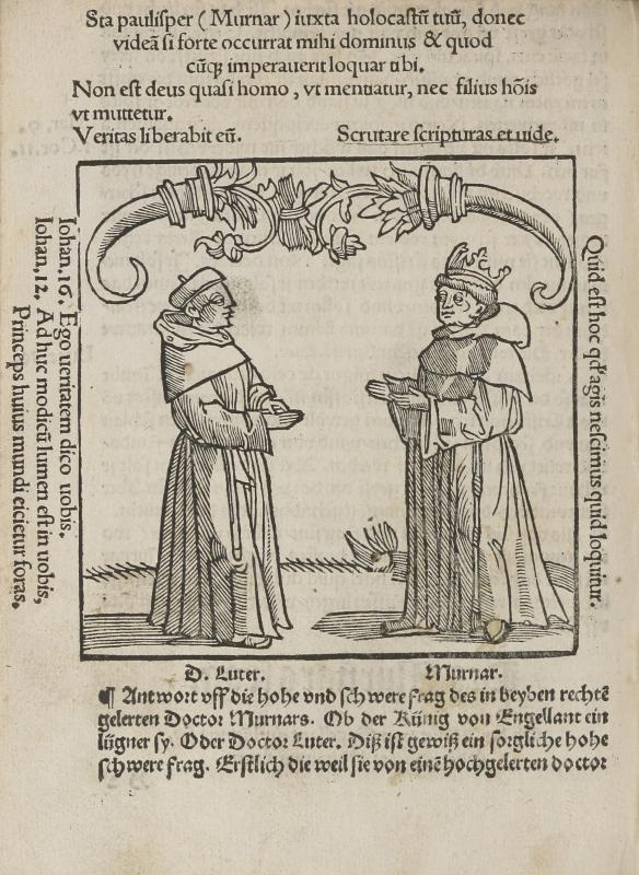 Response to Murner whether the King of England or the Godly Doctor Martin Luther is a Liar