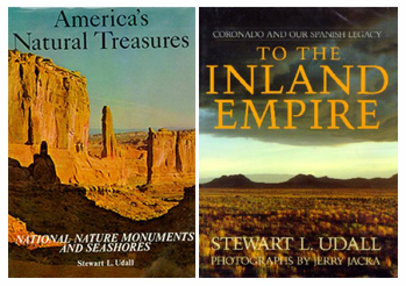 Stewart L. Udall book covers