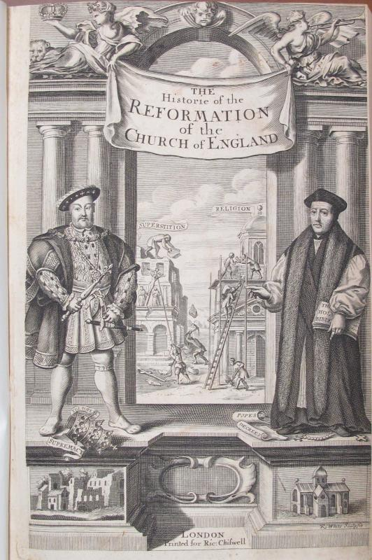 History of the reformation of the Church of England