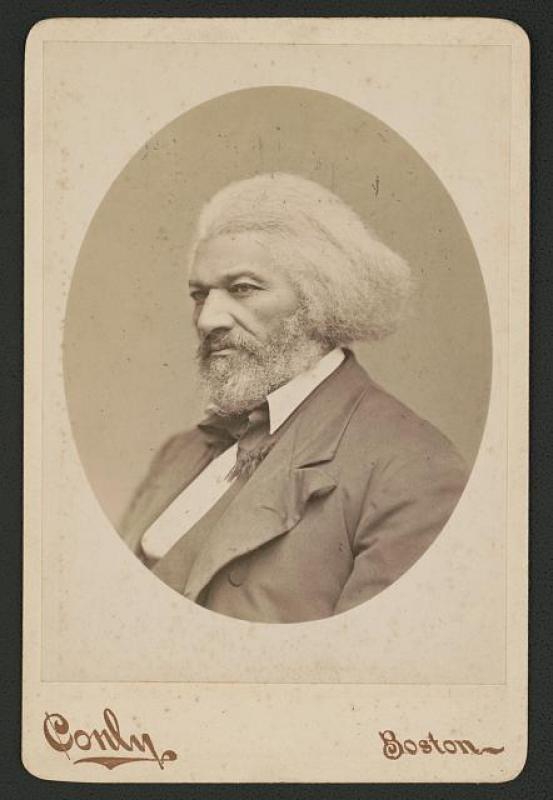 [Frederick Douglass] / C.F. Conly, Photographer, 465 Washington St., Boston.
