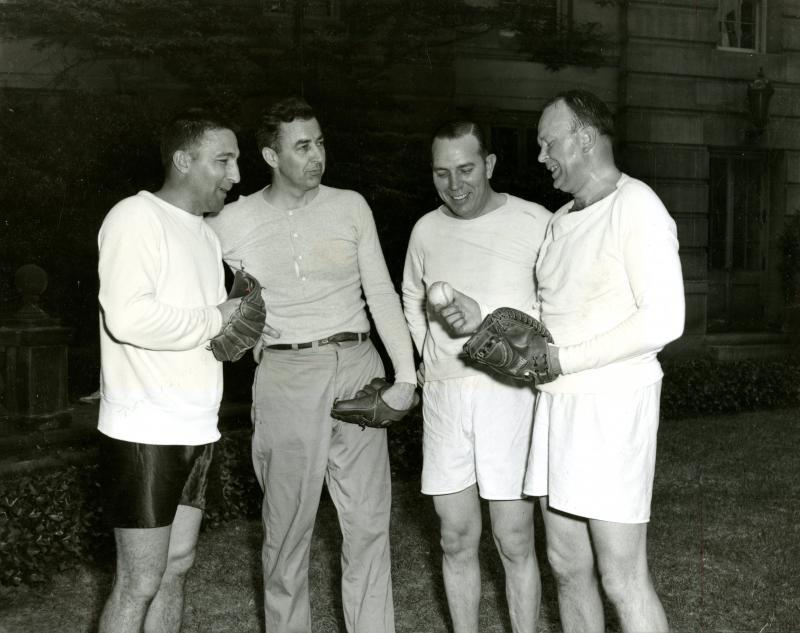 Democratic party baseball, 1957<br />
