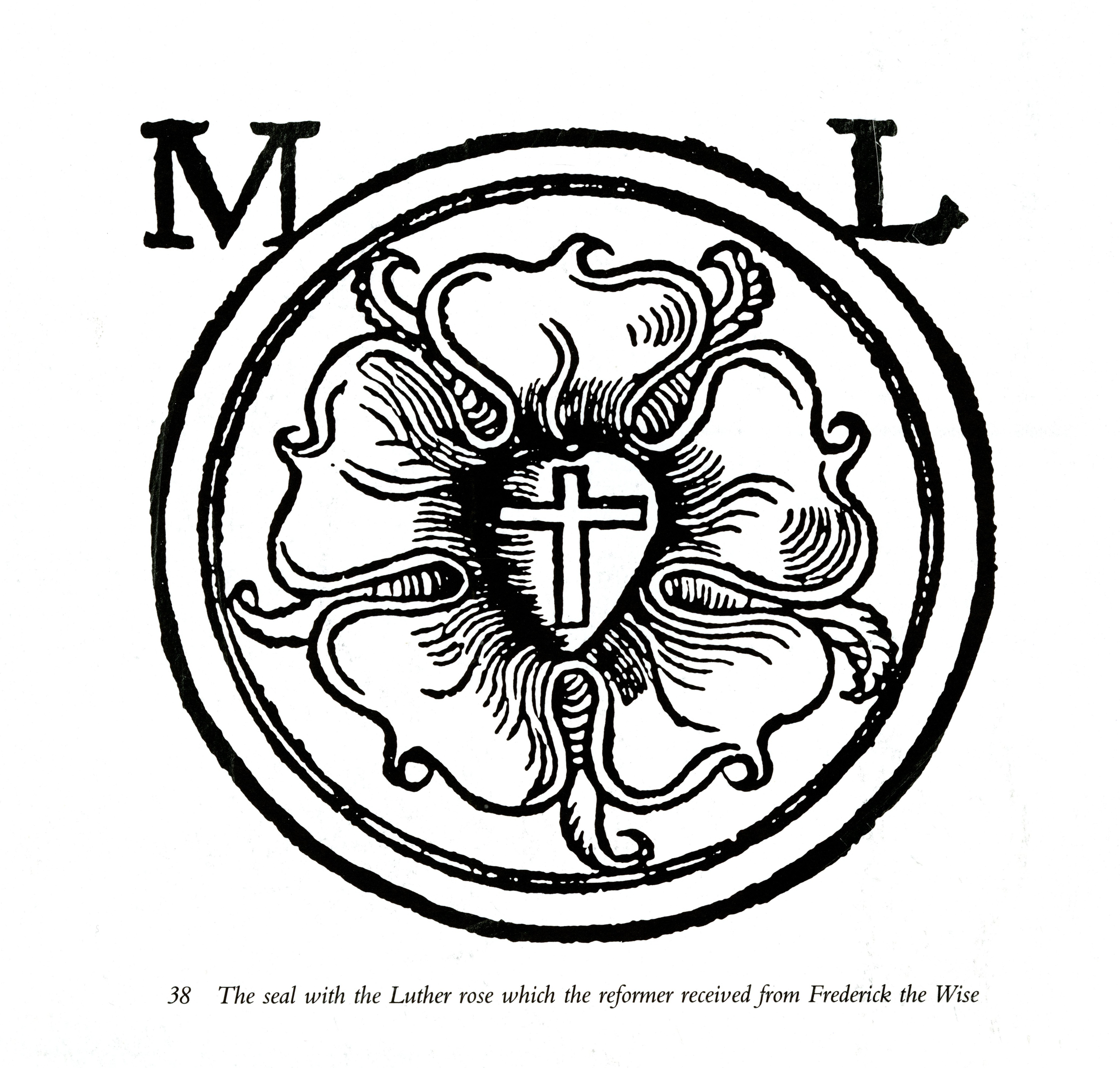 Luther rose or luther seal special collections online exhibits luther rose or luther seal buycottarizona