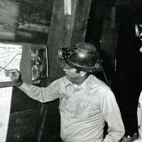 Bisbee Mine tour, 1976