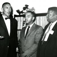 Morris K. Udall with members of the NAACP, 1960s