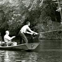 Fishing on the Current River, 1961<br />