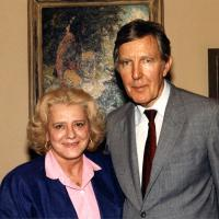 Morris Udall and wife, Ella. 1980s