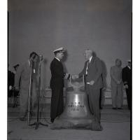 Official Presentation of USS Arizona Bell to the University of Arizona