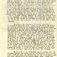 Carta de Francisco De la Torre a su hermana María, 1921-02-04