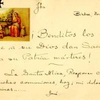 Tarjeta de condolencia, 1935-11-20<br />