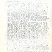 Carta de Francisco De la Torre a su madre, María Uribarren, 1943-10-29<br /> <br />