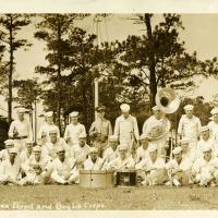USS Arizona Band and Bugle Corps Group Photograph