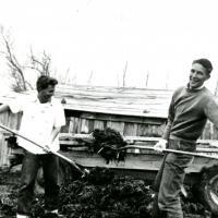 Family farm, St. Johns, AZ, circa 1939