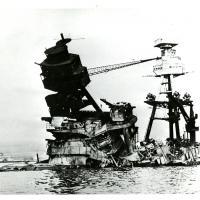 USS Arizona Wreckage in Pearl Harbor