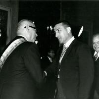 Inauguration of Venezuela&#039;s President Raul Leoni, 1964<br />