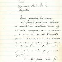 Carta de Carlos De la Torre a Ignacio De la Torre, 1942-07-22<br />