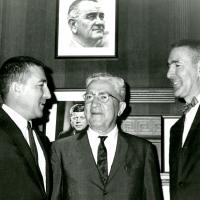 Stewart Udall, Secretary of the Interior and Justice Jesse Udall, Arizona Supreme Court, 1964