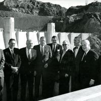 Hoover Dam visit, 1966.