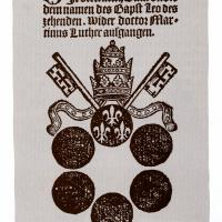 Title pages by or about Martin Luther, circa 1521