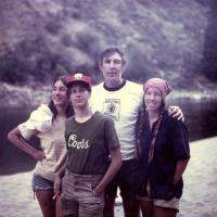 Morris Udall and daughters, 1970s