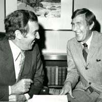 Ed Muskie and Morris K. Udall