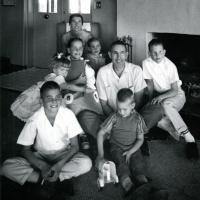 Udall home, 1961.