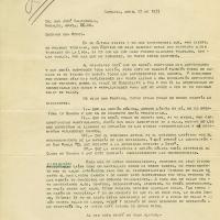 Carta de J. Dreson a José Valenzuela, 1937-04-22<br />