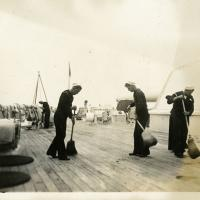 USS Arizona Air Bedding Clean Sweep Down Fore & Aft