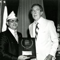 Committee on Veterans Affairs plaque, 1970s