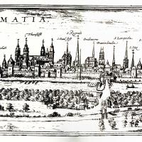 City View of Worms, Germany