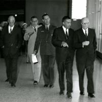 Presentation ceremony in Gettysburg, 1962<br />