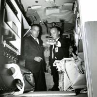 Visiting NASA, 1967<br />