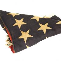 First Flag flown over sunken USS Arizona