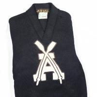 Rowing sweater for USS Arizona whaleboat team