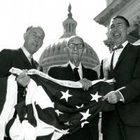 Senator Paul Farris, Senator Carl Hayden, and Senator Morris K. Udall, 1967-1968