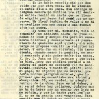 Carta de Alfonso De la Torre a María Uribarren, 1927-05-12<br />