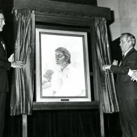 Unveiling of portrait, 1977