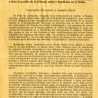 Juan Navarrete, por la gracia de Dios y de la Santa Sede<br />