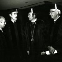 Honorary Doctorate of Law from the University of Arizona. 1973.