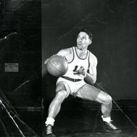 Stewart Udall at University of Arizona, basketball guard