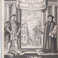 Detail of History of the reformation of the Church of England
