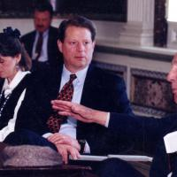 Udall and Vice President Al Gore, 1996