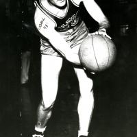 Morris K. Udall, basketball team, 1948