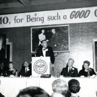 Dinner in Udall's honor, 1966