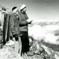 Hiking up Japan&#039;s Mt. Fuji, 1961<br />