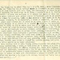 Carta de Carlos De la Torre a su madre María Uribarren, 1941-08-16<br />