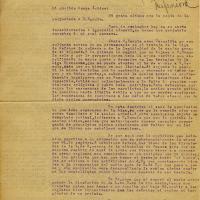 Carta de Juan Navarrete a Isidro, 1937-05-10<br />