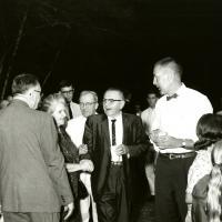 Stewart Udall and Congressman Aspinall, 1960s.